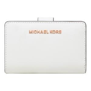 【ポイント2倍】マイケルコース MICHAEL KORS 財布 二つ折り財布 35T9RTVF2L OPTIC WHITE ウォレット アウトレット レディース|hommage