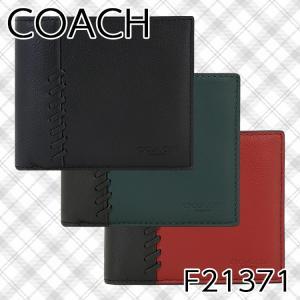 【ポイント10倍】コーチ 二つ折り財布 メンズ COACH F21371 アウトレット|hommage