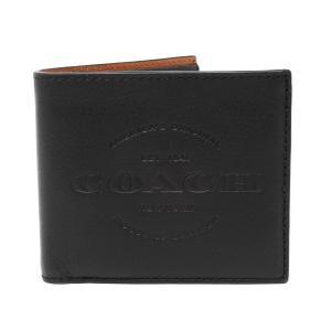 コーチ 二つ折り財布 メンズ COACH F24647 BLK アウトレット|hommage