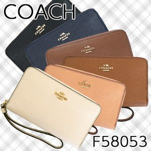 【ポイント5倍】コーチ 財布 iPhone収納可 レディース COACH F58053 アウトレット|hommage