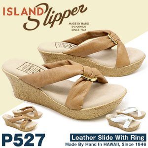 アイランドスリッパ ISLAND SLIPPER サンダル ウェッジソールサンダル P527 正規品 レディース|hommage