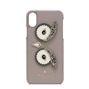 【ポイント10倍】ケイトスペード KATE SPADE iPhone X ケース WIRU0987 992 フクロウ アウトレット レディース|hommage