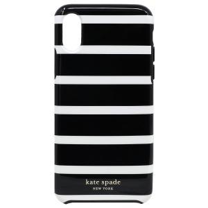 【ポイント10倍】ケイトスペード KATE SPADE iPhoneX/XS アイフォンX/XS ケース WIRU1112 098 ストライプ アウトレット レディース|hommage
