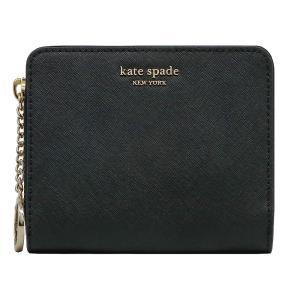 【ポイント10倍】ケイトスペード KATE SPADE 財布 二つ折り財布 WLRU5424 001 ウォレット アウトレット レディース|hommage