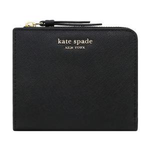 【ポイント10倍】ケイトスペード KATE SPADE 財布 二つ折り財布 WLRU5431 001 ウォレット アウトレット レディース|hommage