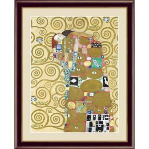 【F6】世界の名画額 抱擁 クリムト 有名美術館 レプリカ モダン インテリア  壁掛け 階段飾り [送料無料]|honakote