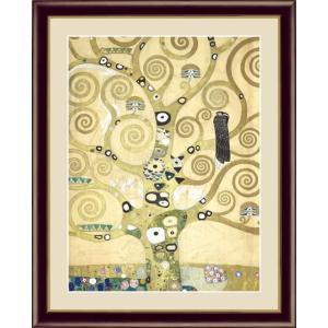 【F6】世界の名画額 生命の樹 クリムト 有名美術館 レプリカ モダン インテリア  壁掛け 階段飾り [送料無料]|honakote