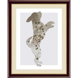 【F6】モノトーンアート絵額 Balloon バルーン 山口美咲 アート インテリア 安らぎ 潤い 壁掛け [送料無料] honakote
