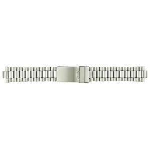BAMBI バンビ 時計バンド バンビ ブロック ダブルロック SS(ステンレス) BSB4584-S|honaminoie