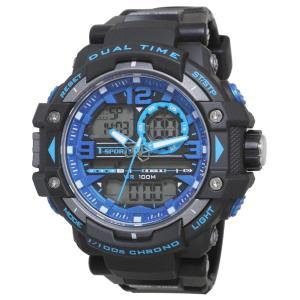 T-sports アナデジ 腕時計 TS-AD046-BKB|honaminoie
