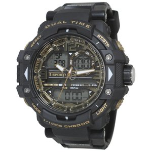 T-sports アナデジ 腕時計 TS-AD046-BKG|honaminoie