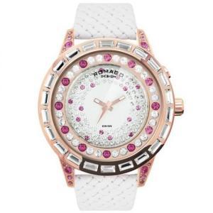 ROMAGO DESIGN (ロマゴデザイン) Dazzle series ダズルシリーズ 腕時計 RM006-1477RG-PK|honaminoie