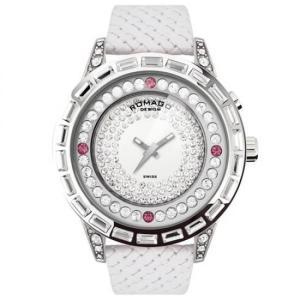 ROMAGO DESIGN (ロマゴデザイン) Dazzle series ダズルシリーズ 腕時計 RM006-1477SV-WH|honaminoie