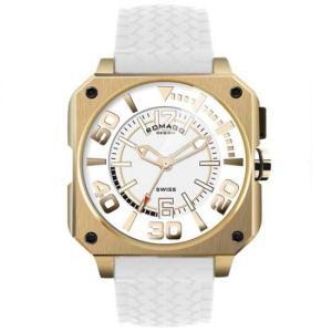 ROMAGO DESIGN (ロマゴデザイン) Cool series クールシリーズ 腕時計 RM018-0073PL-GD|honaminoie