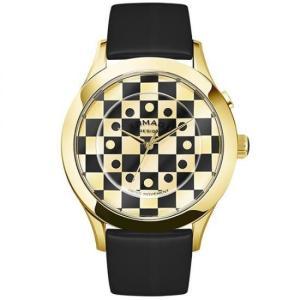 ROMAGO DESIGN (ロマゴデザイン) Fashioncode series ファッションコードシリーズ 腕時計 RM052-0314ST-GDBK|honaminoie