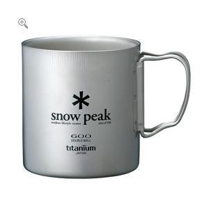 スノーピーク snowpeak チタンダブルマグ 600 honda-walk
