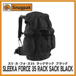 Snugpak(スナッグパック) スリーカーフォース35 ラックサック ブラック|honda-walk