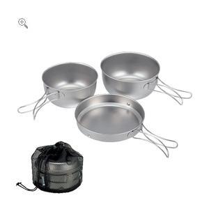 スノーピーク snowpeak チタン 3食器 ケース付|honda-walk