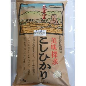 お米29年産 自然農法米こしひかり「天の恵み」白米10kg|hondanojo