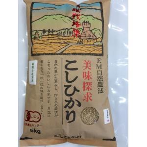 無農薬 お米 有機米 JAS認定 有機若緑小粒玄米 29年産 5kg 無農薬米 有機米|hondanojo