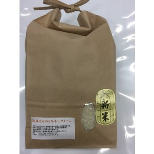 ミルキークイーン 平成29年産 加賀厳選米 辻本さんのミルキークイーン 2kg 白米 送料無料|hondanojo