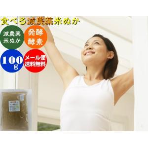 (送料無料)自然の恵み発酵米ぬか「素肌美人」100gメール便|hondanojo
