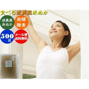 (送料無料)自然の恵み発酵米ぬか「素肌美人」500gメール便|hondanojo