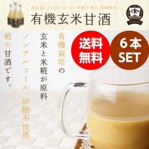 有機(オーガニック)玄米甘酒6本|hondanojo