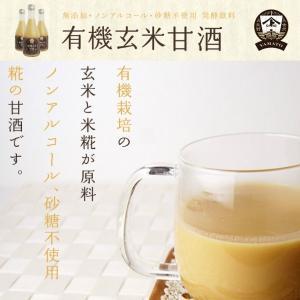 有機(オーガニック)玄米甘酒1本300ml|hondanojo