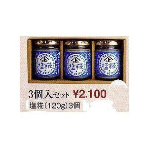 塩糀120g3個入りセット|hondanojo