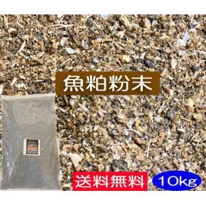 魚粕粉末 10kg送料無料(JAS有機適合資材)|hondanojo