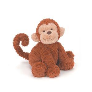 JELLYCAT Fuddlewuddle Monkey Medium さるのぬいぐるみ 猿|hondastore