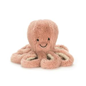 Odell Octopus babyタコ ぬいぐるみ JELLYCAT ジェリーキャットのぬいぐるみ 英国|hondastore