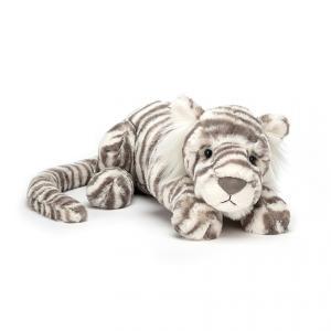 sacha Snow Tiger Little  ホワイトタイガー ぬいぐるみ ジェリーキャット|hondastore