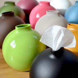 ペーパーポット 光沢 or マット タイプ (Paper Pot 壺型ティッシュケース) アイコレクション|honest
