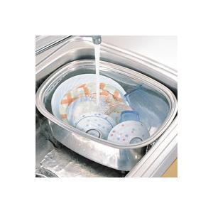 脚付きステン洗い桶 ステンレス製洗桶 シンク用 アーネスト|honest