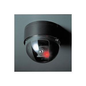 ドーム型 防犯ダミーカメラ ADC-204 ブラック スマイルキッズ|honest