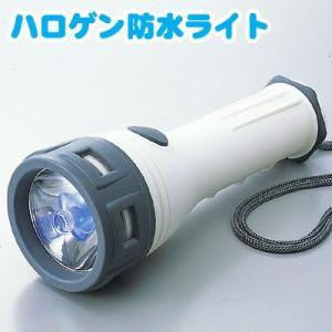 【電池付き】 ハロゲン防水ライト AHL-2201 【スマイルキッズ(旭電機化成)】|honest