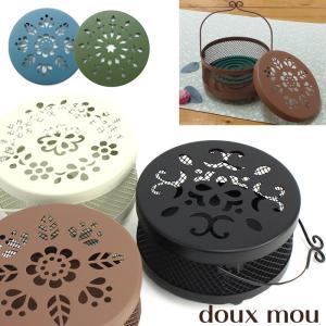 蚊取り線香入れ 蚊取り線香ホルダー doux mou ドゥームー 蚊やり レギュラー フラワー 丸和貿易|honest