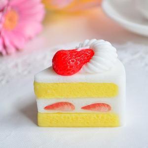 カメヤマキャンドル スイーツキャンドル イチゴの「ショートケーキ」ケーキ キャンドル パーティー スイーツ プレゼント|honest