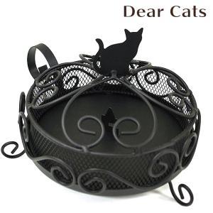 蚊取り線香入れ 蚊取り線香ホルダー 蚊遣り Dear Cats ディアキャッツ  フタ付き 蚊遣り器 honest