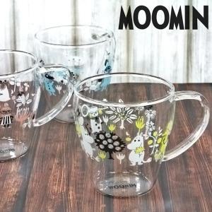 ムーミン 耐熱ガラスマグ 耐熱マグカップ