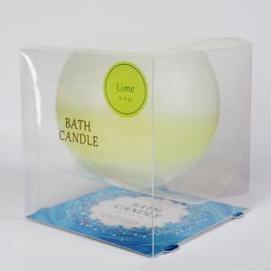ライムの香り お風呂でアロマ ぷかぷかバスキャンドル|honest