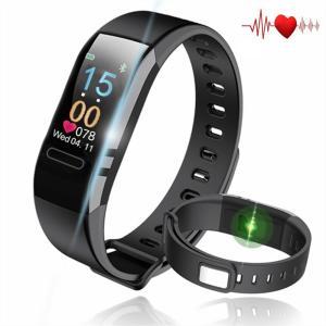 AnvFlik最新版 スマートブレスレット スマートウォッチ 血圧計 心拍計 歩数計 睡眠検測 腕時計 活動量計 多機能 スマートリストバンド|honey-pot
