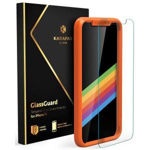 Anker KARAPAX GlassGuard iPhone X用 強化ガラス液晶保護フィルム AK-A7481001 honey-pot