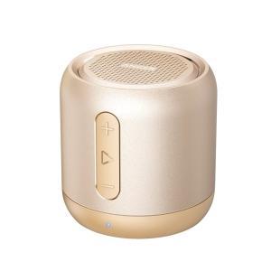 Anker SoundCore mini コンパクト Bluetoothスピーカー A31015B1 (ゴールド)