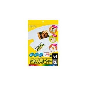 コクヨ インクジェットプリンタ用紙 アイロンプリントペーパー A4 5枚 KJ-PR10N|honey-pot