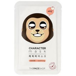 THE FACE SHOP/ザフェイスショップ/キャラクターマスク/【サル】/トラブル/鎮静/保湿/リンゴエキス/マスクシート/韓国コスメ
