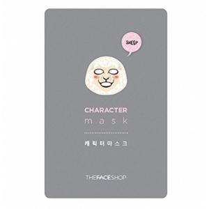 THE FACE SHOP/ザフェイスショップ/キャラクターマスク【ヒツジ】/弾力/保湿/乾燥肌/マスクシート/韓国コスメ