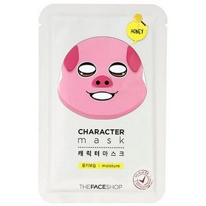 THE FACE SHOP/ザフェイスショップ/キャラクターマスク【ブタ】/潤い/保湿/ハチミツ成分/マスクシート/韓国コスメ